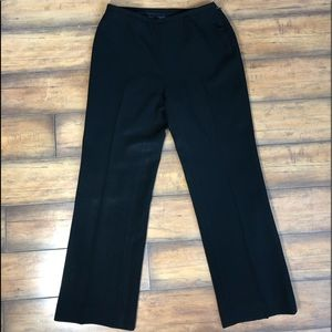Ann Taylor Petites Black Lined Trousers!